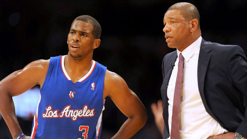 It was a tough opener for Chris Paul, Doc Rivers and the Clippers, who lost 116-103 to the crosstown rival Lakers.