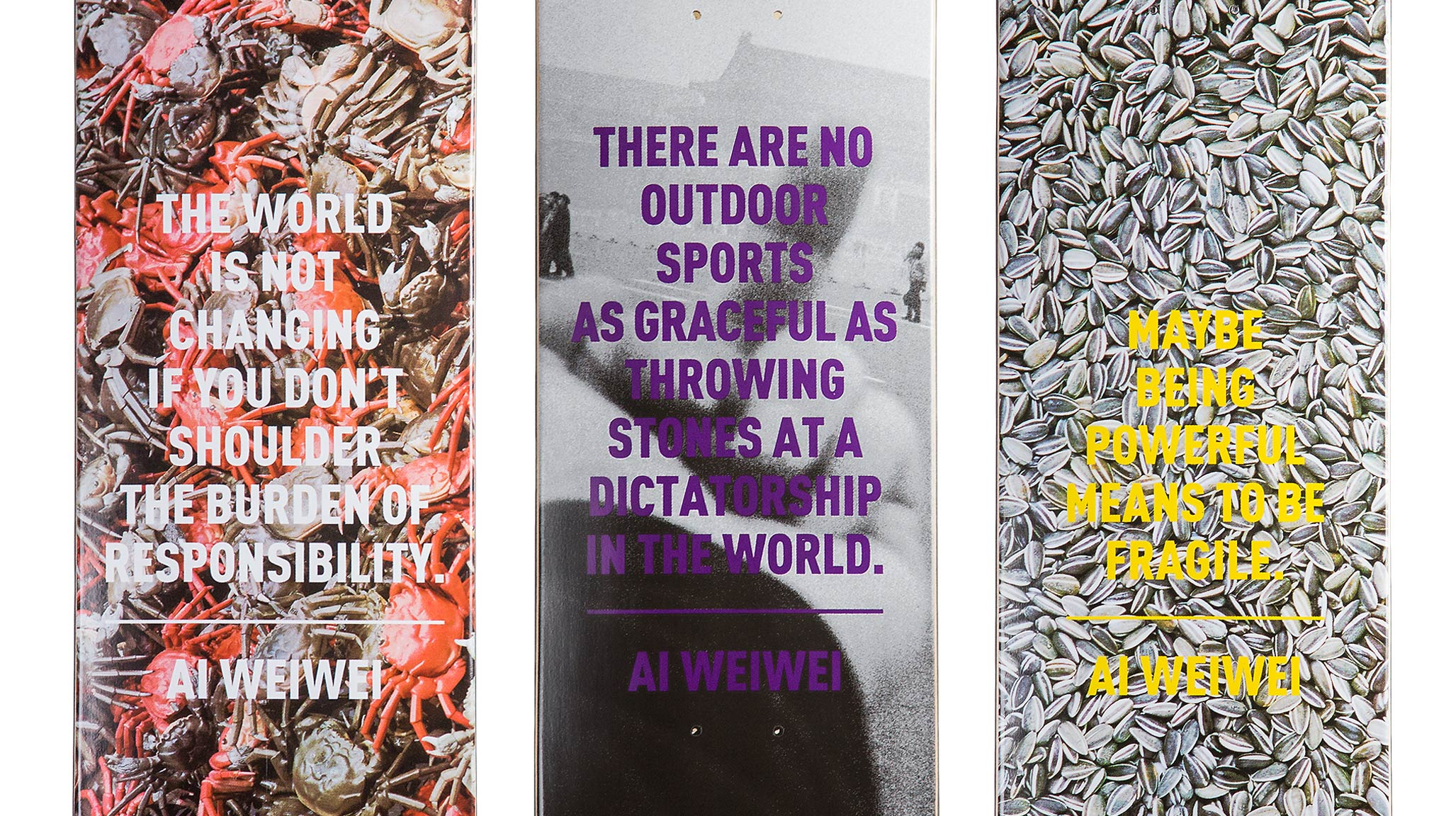 The SK8room x Ai Weiwei