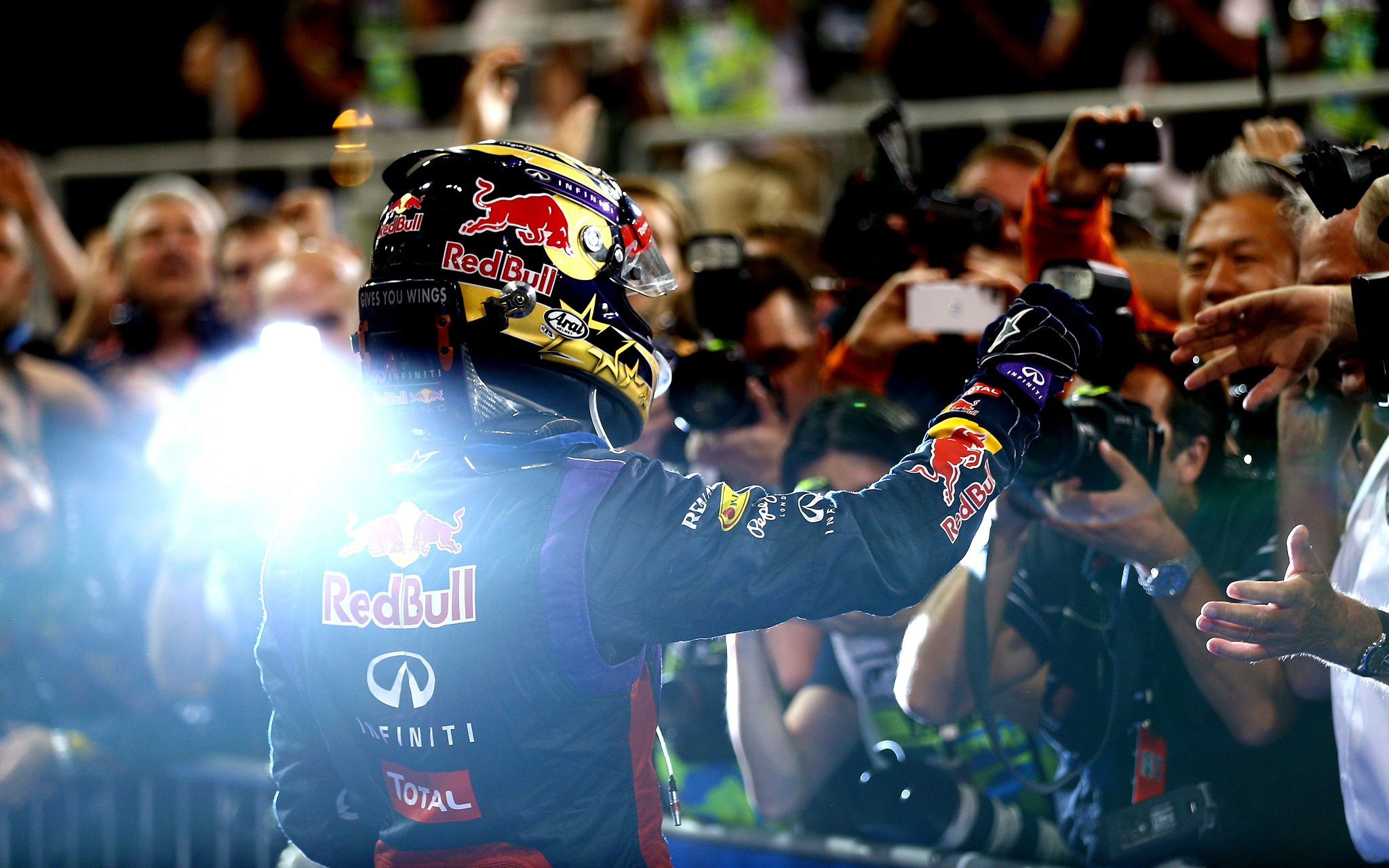 Vettel Victorious