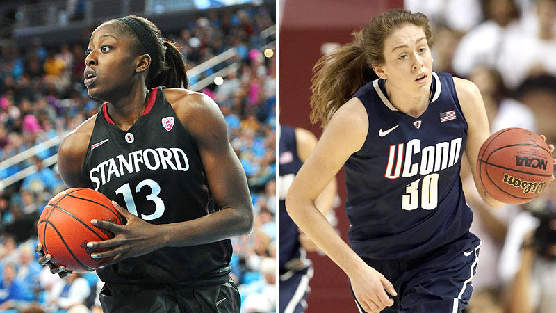 Chiney Ogwumike and Breanna Stewart