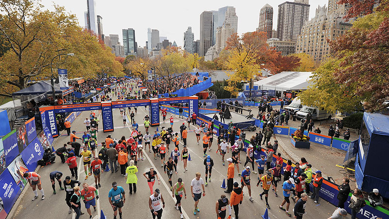 More than 50,000 runners are expected to finish the New York City Marathon on Sunday, each with their own motivation.