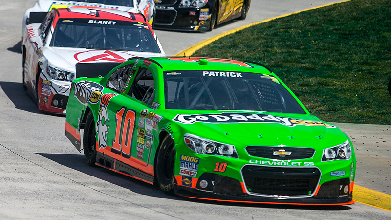 On the notoriously tricky .526-mile track at Martinsville in April, Danica Patrick finished a solid and surprising 12th even though she started from the back of the field and fell two laps down early.