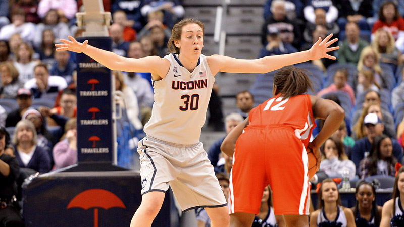 Breanna Stewart was blessed with long limbs, but the UConn women's basketball star didn't always know how to use them.