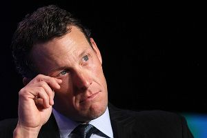 Lance Armstrong, cyclist and founder and chairman of LIVESTRONG