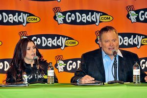 GoDaddy founder Bob Parsons was a staunch supporter of Danica Patrick and helped her transition from IndyCar to NASCAR.