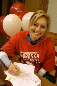 Chandler Smith, one of a handful of Top 100 recruits who came into the early signing period undeclared, signed a national letter of intent to play at Nebraska. She is smart, competitive, has great length and size on the perimeter and is a savvy player, coach Connie Yori said. The 6-foot-1 wing out of Washington became the third Top 100 player in the Huskers' 2014 class. I(Photo Courtesy the Smith family)/I