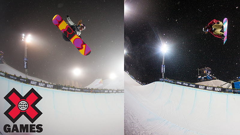 Chat with snowboarders Arielle Gold (left) and Kelly Clark (right) on XGames.com.