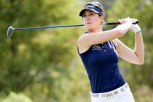Sandra Gal shot a 3-under 69 Friday to open a three-shot lead going into the weekend of the LPGA Tour finale.