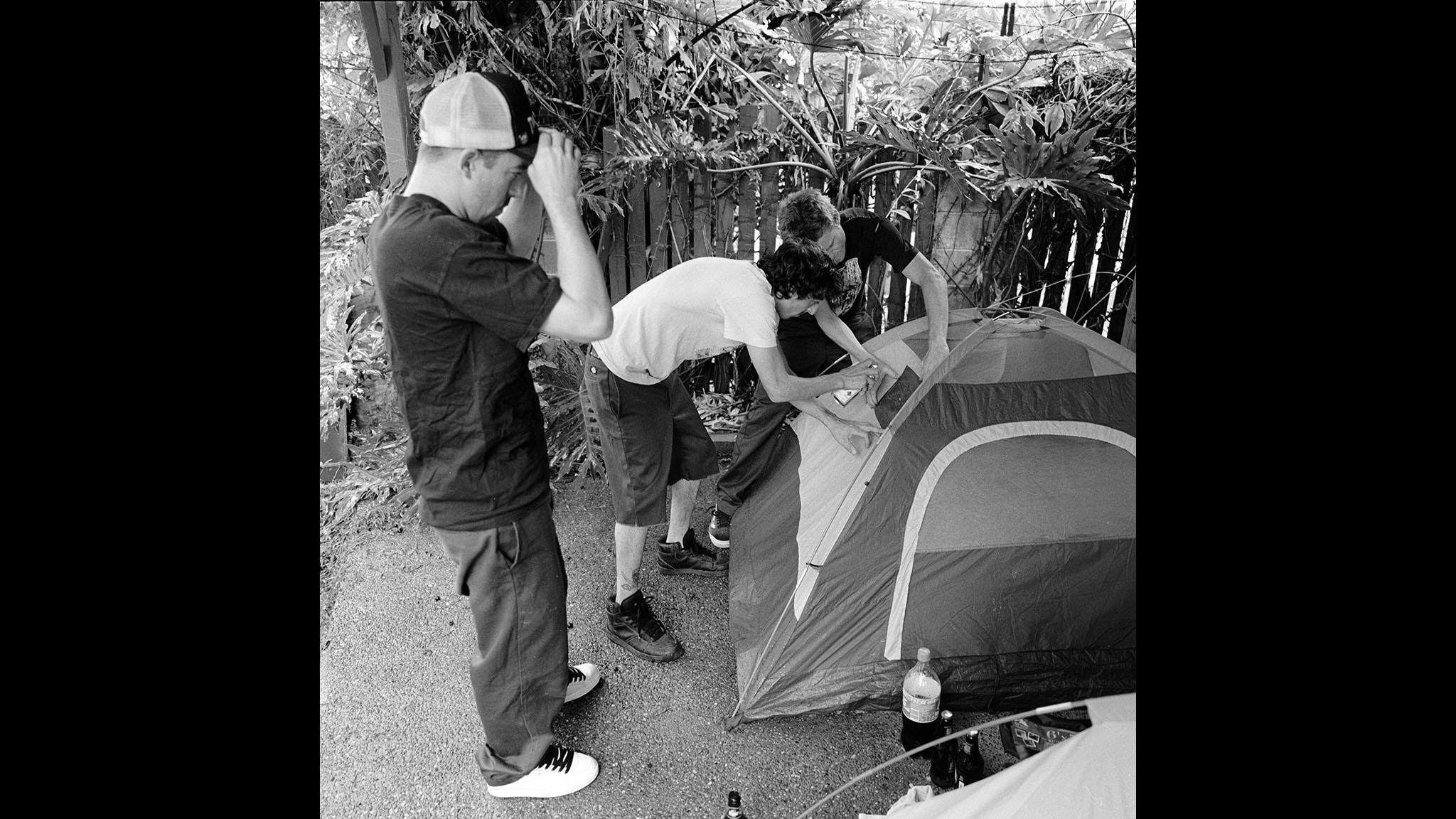 Tent alterations