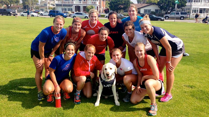 Rachel Dawson and the members of the U.S. field hockey team bonded through a difficult transition period.