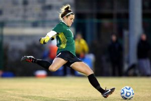 Senior goalkeeper Dayle Colpitts has made the big saves when needed for Virginia Tech.
