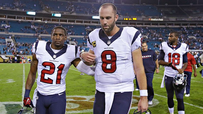Just when we were starting to speculate about a Matt Schaub imposter, the quarterback performed his same old song and dance.