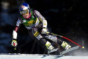 Lindsey Vonn continues to work her way up the standings as she continues her comeback.