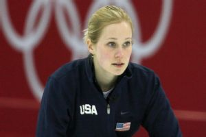 Cassie Potter (then Johnson) qualified to the Olympics with her team in 2006.
