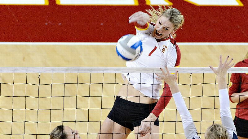 USC knows it will face a challenge in the Sweet 16 as the Trojans host a hot BYU team that went into Hawaii and won in a sweep in the first round.
