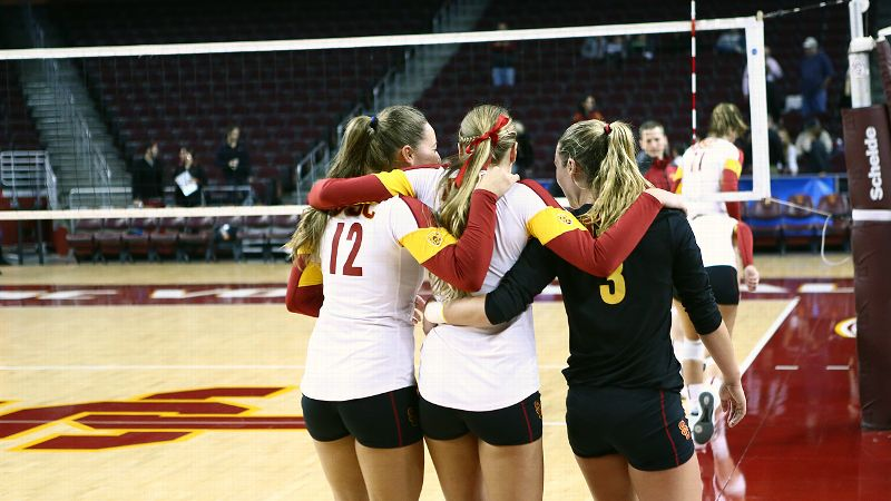 In an emotionally and physically draining match, USC battled for every point but came up just short.