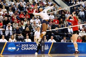 Deja McClendon, an outside hitter, leads second-ranked Penn State in kills.
