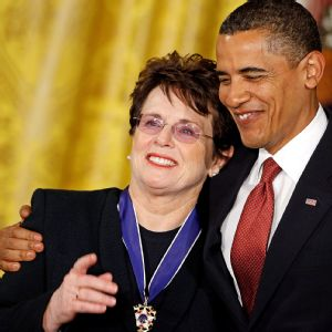 Billie Jean King, who was awarded the Medal of Freedom by President Barack Obama in 2009, will help help lead the U.S. delegation at the Winter Olympics in Sochi, Russia.
