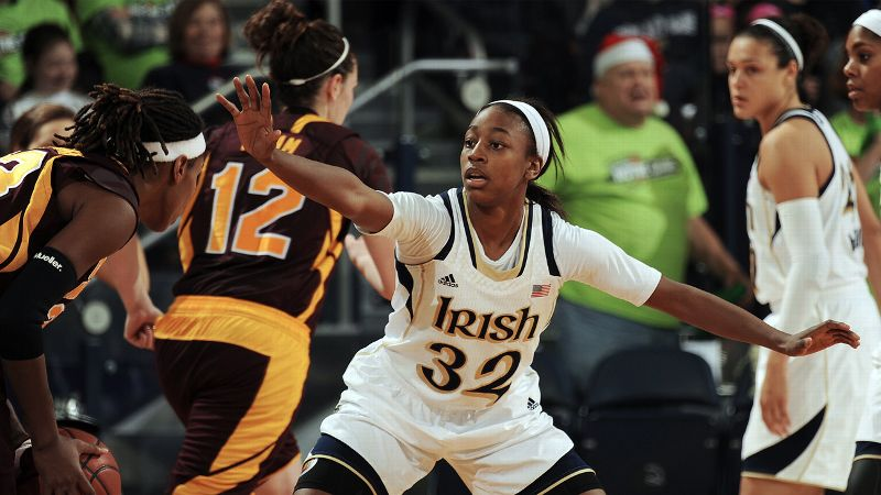 Nobody thought the Irish were going to fall off the map, not with Jewell Loyd (pictured), Kayla McBride and Natalie Achonwa on the floor. But starting a new era in the ACC without defining guard Skylar Diggins? So far, so good. The Irish are unbeaten and look like the second-best team in the country right now. -- Michelle Smith (Photo: AP Photo/Joe Raymond)