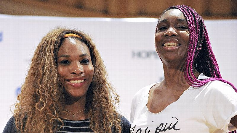 Venus and Serena Williams were impressed by the talent they saw in Jamaica, and the sisters hope tennis can become a major sport on the island.