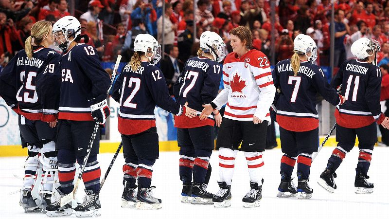In the two teams' last Olympic meeting, Canada beat the United States 2-0 in Vancouver to win the gold.