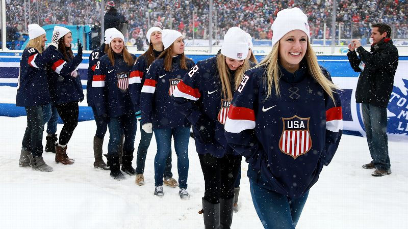 The U.S. Olympic women's hockey team has not won a gold medal since the 1998 Nagano Games.