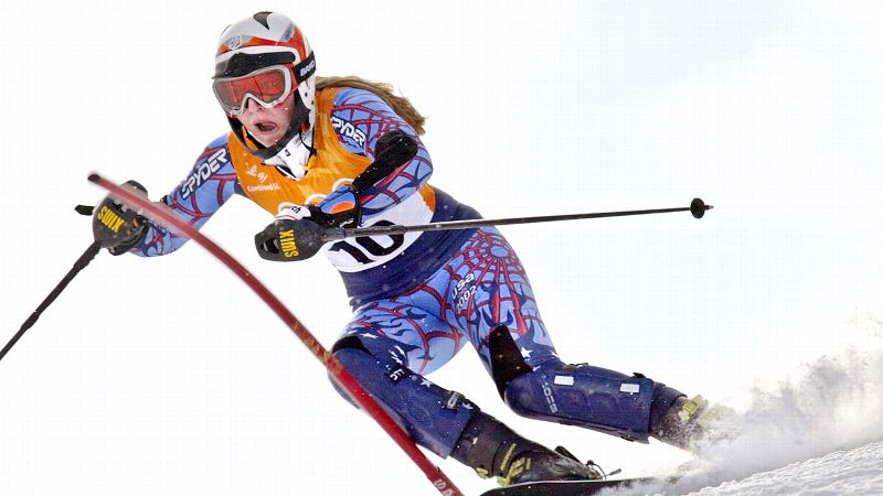 Vonn -- then known by her maiden name Lindsey Kildow -- made her Olympic debut in Salt Lake City at just 17 years old. She raced in the slalom and combined events, finishing 32nd and sixth, respectively. (Photo: Don Emmert/AFP/Getty Images)