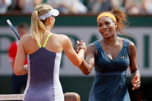 A handshake between the two biggest stars in the women's game could take place in the quarters this year.