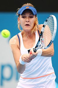 Agnieszka Radwanska has a deft game, but her lack of power hurts her.
