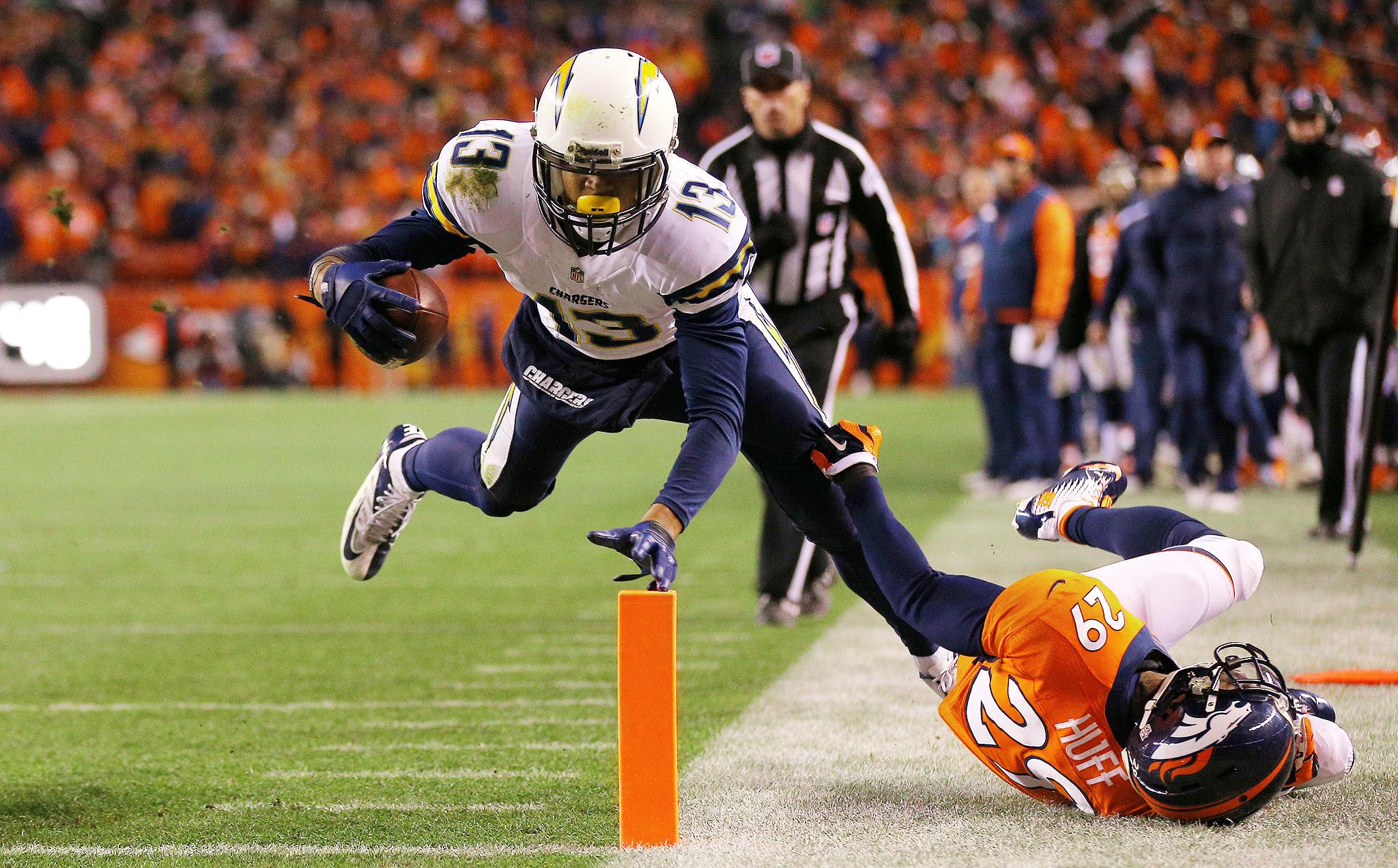 Allen Catches Fire - NFL Divisional Round in Pictures - ESPN