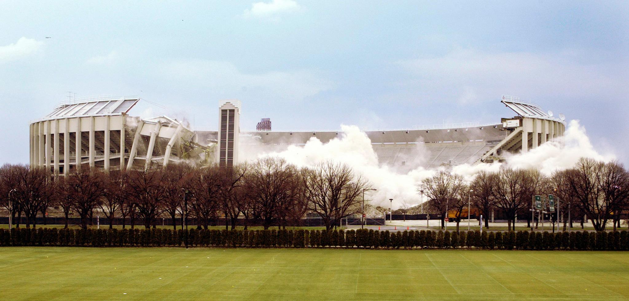 Veteran's Stadium: 1971-2004