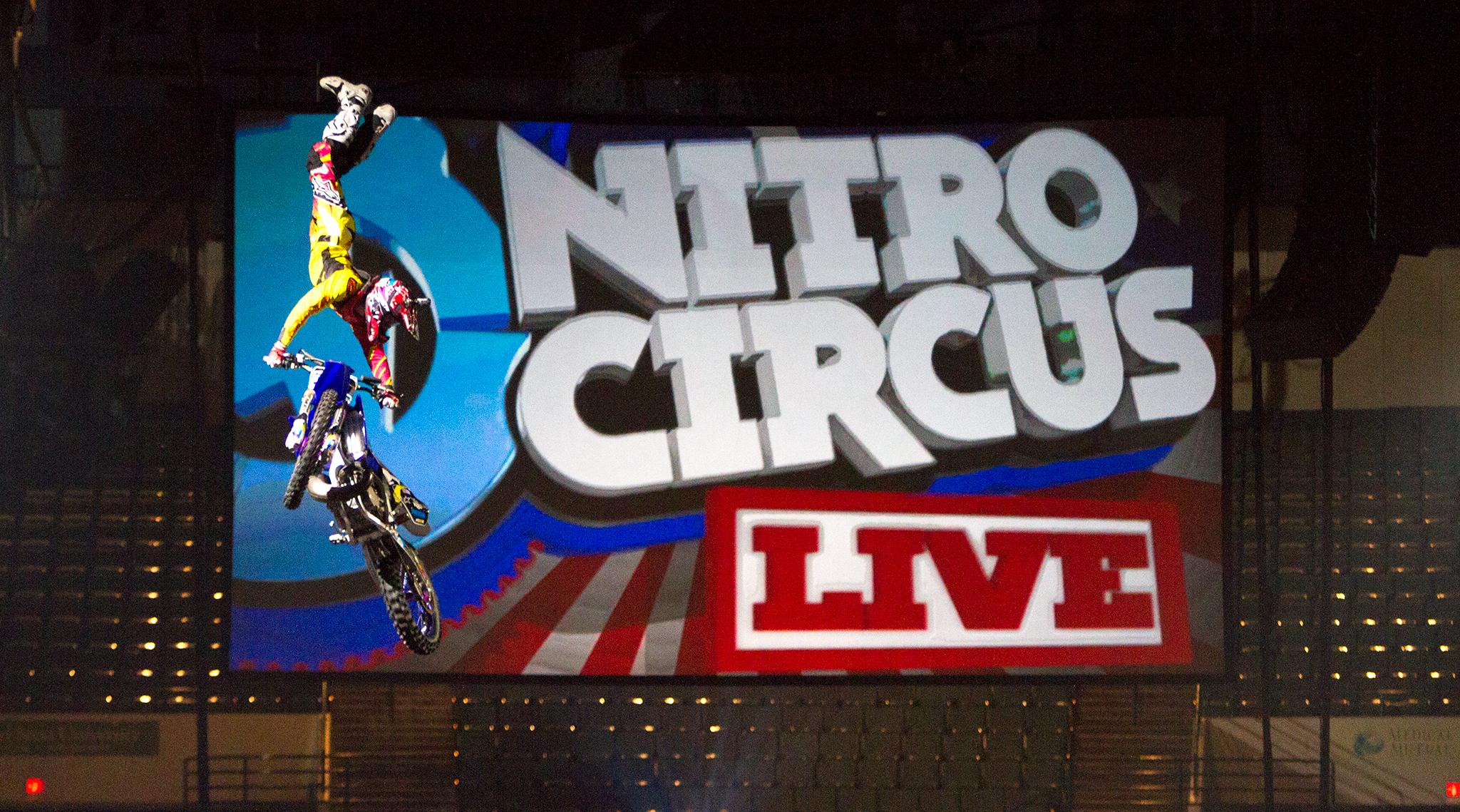 Nitro Circus Live viaja para a Am�rica do Norte