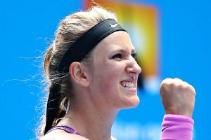 Two-time Australian Open champ Victoria Azarenka hasn't played since injuring her foot at Indian Wells on March 7.