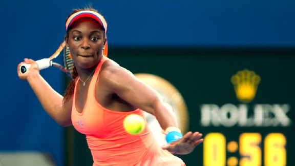 Despite the buzz, Stephens hasn't reached a final, let alone win a WTA tournament.