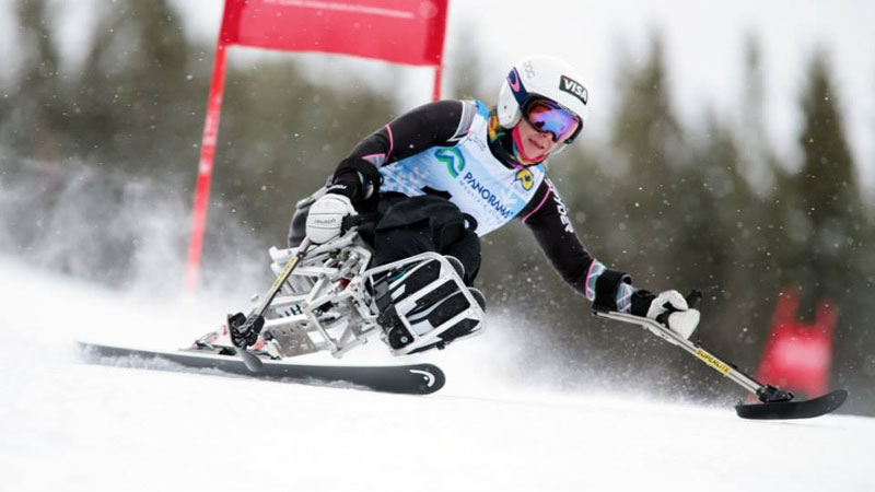 With two silver medals at the Panorama World Cup, Alana Nichols has secured a spot to compete in the Sochi Paralympics.