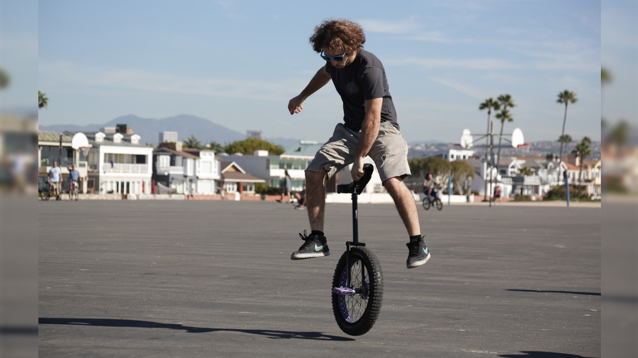 Unicycle varial