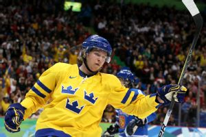 Sweden's Nicklas Backstrom didn't play in the gold-medal game after failing a doping test.
