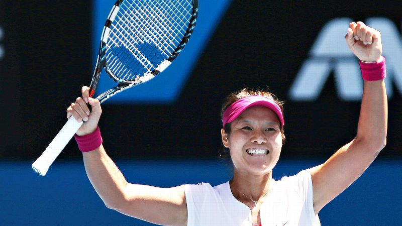 Li Na got an early birthday present with a Grand Slam victory in Melbourne last month.