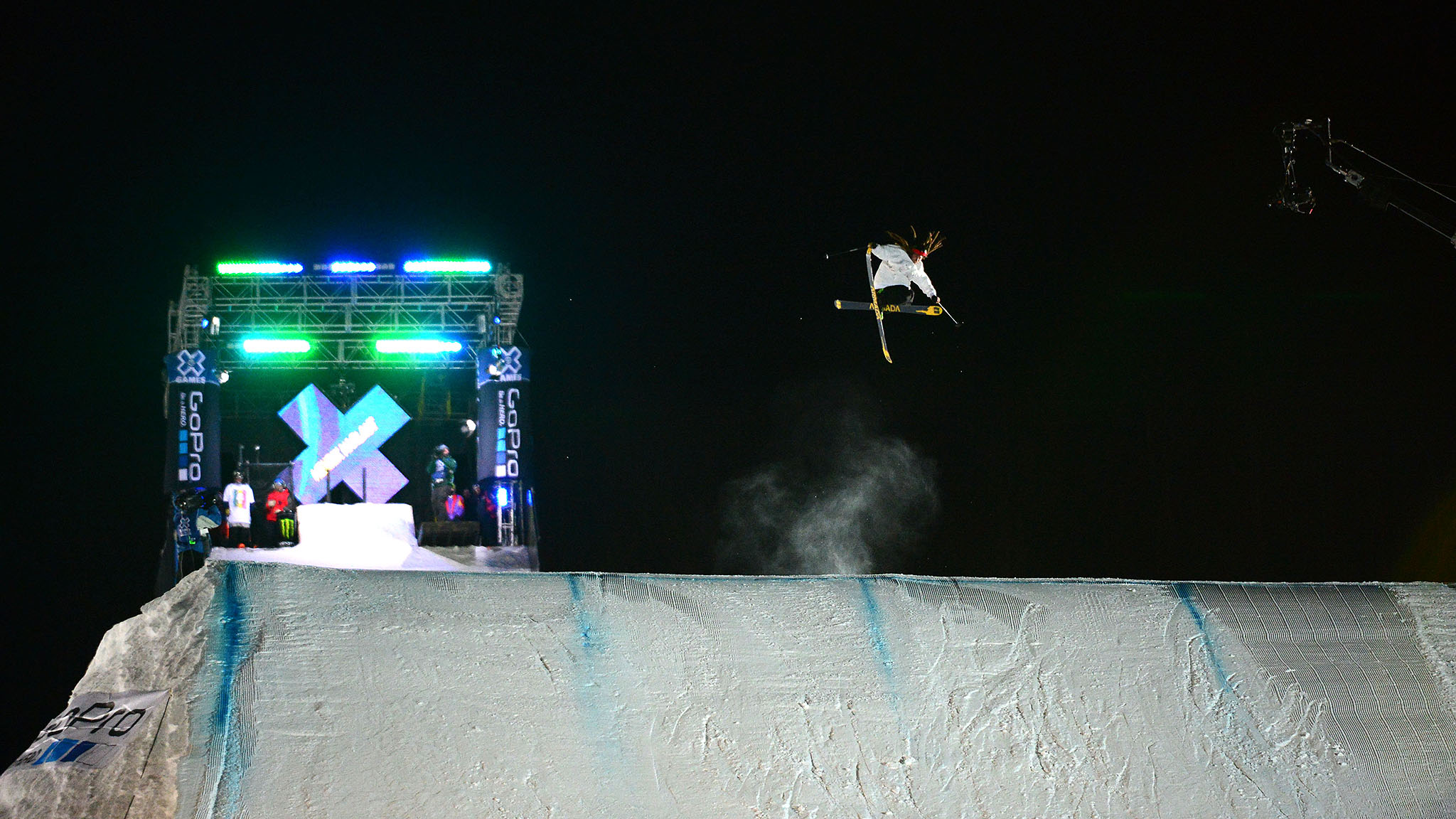 Sweden's Henrik Harlaut won Ski Big Air at X Games Aspen 2014 with the same trick he used to win in Aspen last year: a nose butter triple 1620. It felt like it was time to do it again, Harlaut said.