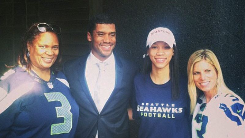 The Wilson family will be gathering in New York and New Jersey this weekend to watch Russell Wilson play in his first Super Bowl.