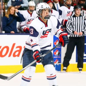 The U.S. women haven't won Olympic gold in hockey since the sport's Olympic debut in 1998.