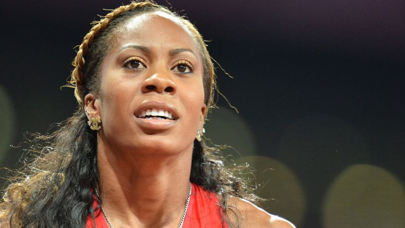 Sanya Richards-Ross pulls up of the 400-meter at Olympic trials