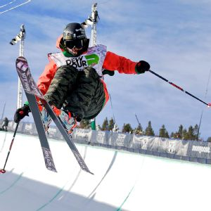 Devin Logan qualified to the Olympic team in slopestyle skiing, but just missed the cut in halfpipe.
