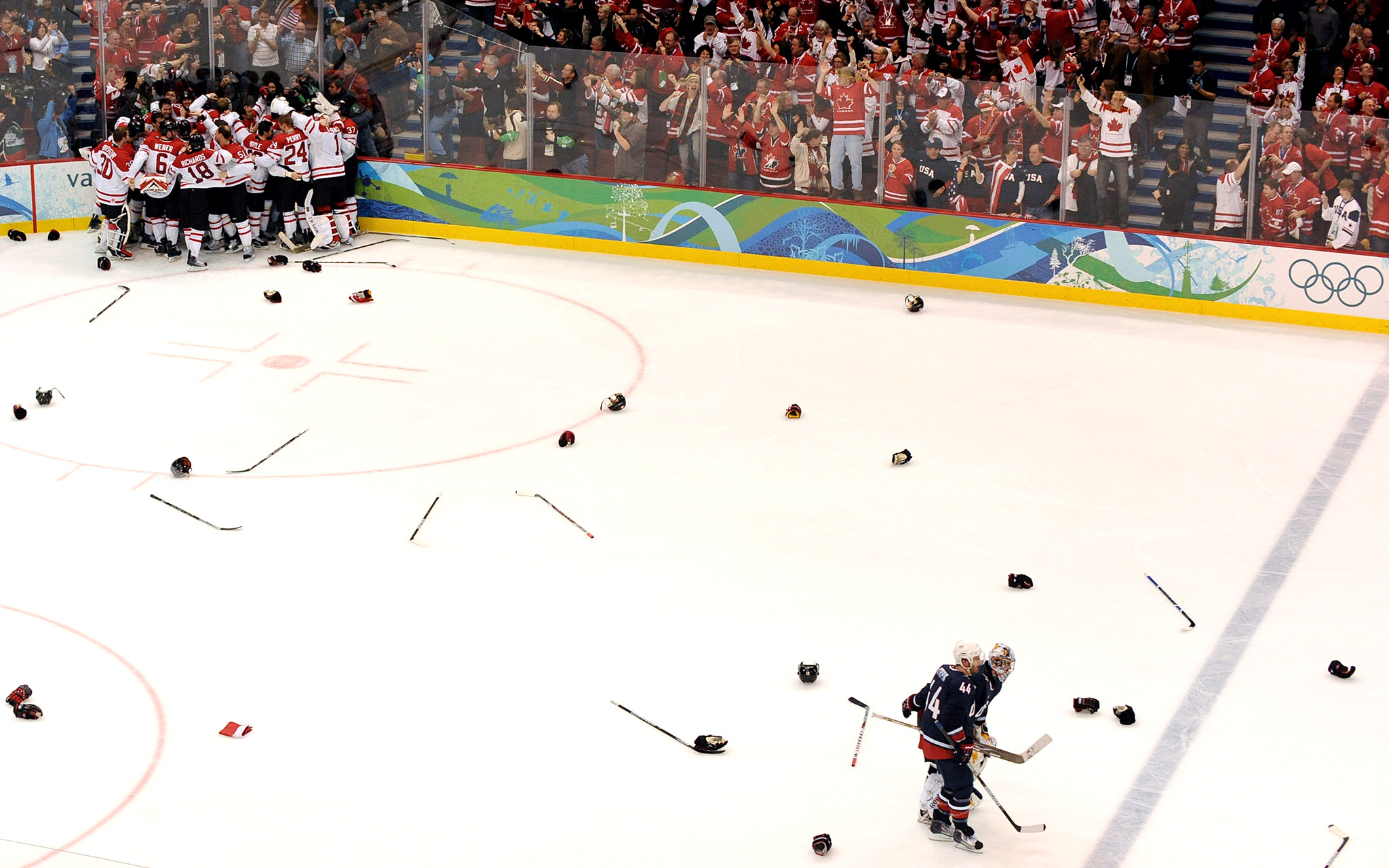 Canada Wins Gold, USA Gets Silver