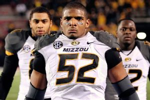 In addition to his 123 tackles and 21 sacks, Michael Sam now has more than 46,000 Twitter followers to his credit.