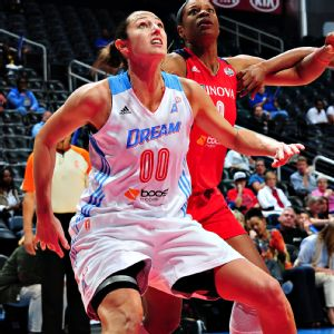 Ruth Riley played in 387 career WNBA games, averaging 6.3 points and 4.1 rebounds over 13 seasons.