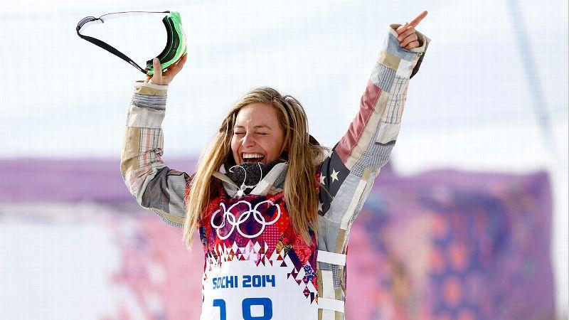 Feb. 9: W Gold Medalist Jamie Anderson