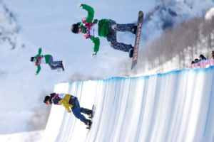 Sochi halfpipe