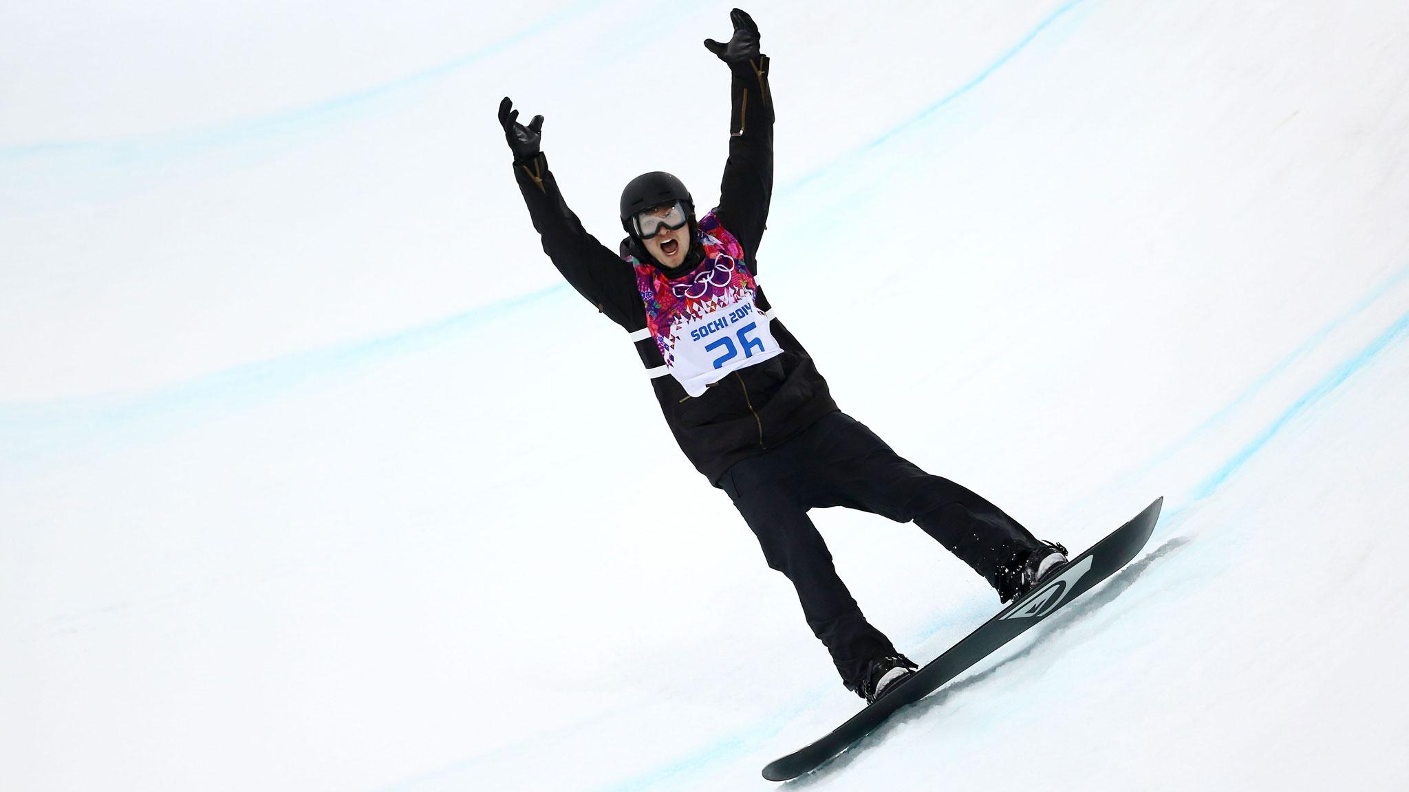 Сноуборд хафпайп олимпиада 18 фотография
