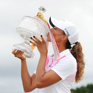 Cheyenne Woods -- Tiger's niece -- won her first professional title this past week at the Australian Ladies Masters.